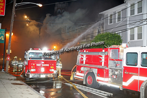 West Warwick- 3rd Alarm, 72 Washington St.-5/31/08