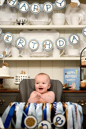 February 13, 2021 - Barrett's first birthday - Madison Ga