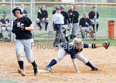 Milligan College vs Montreat College Softball 4-1-09