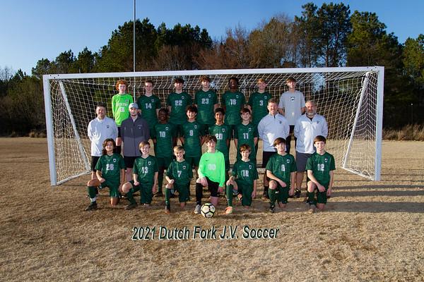 2021 Boys Soccer  JV