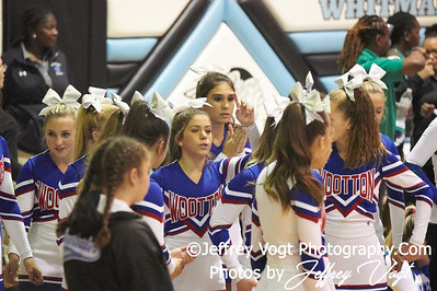 10-13-2018 Thomas S. Wootton High School Varsity Cheerleading at the Walt Whitman 4th Annual Cheerleading Competition, Photos by Jeffrey Vogt Photography