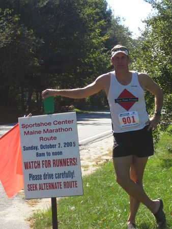 The MAINE Marathon