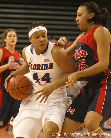 Photo Gallery: Women's Basketball vs. Mississippi, 1/25/09