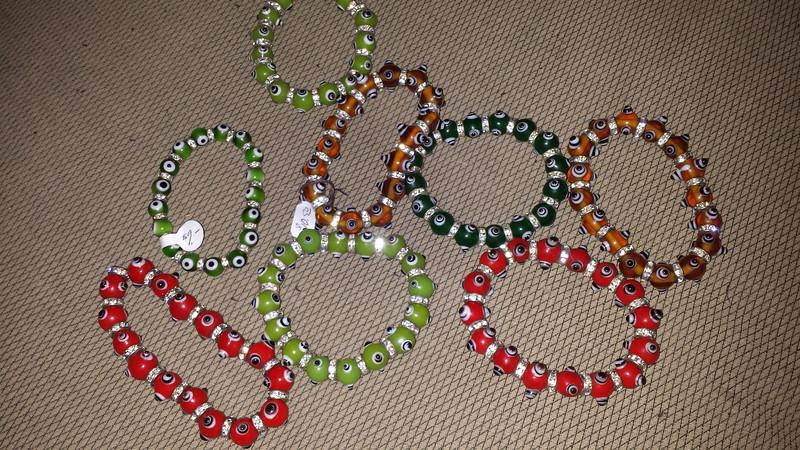 Evil Eye bracelets $10 each