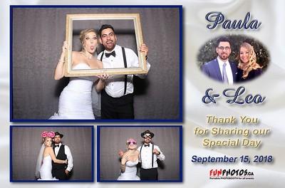 September 15, 2018 Paula & Leo