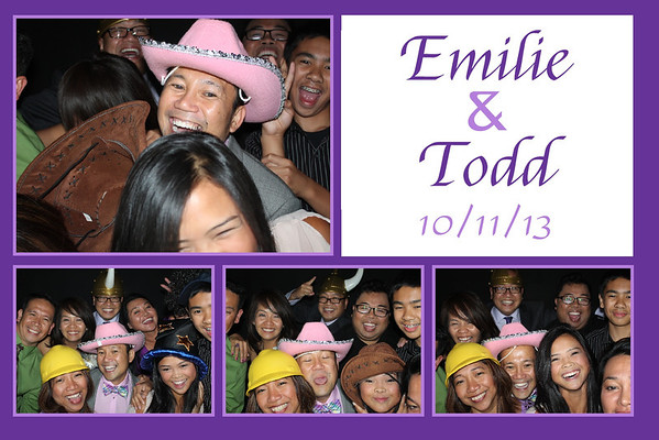 Emilie and Todd October 11, 2013