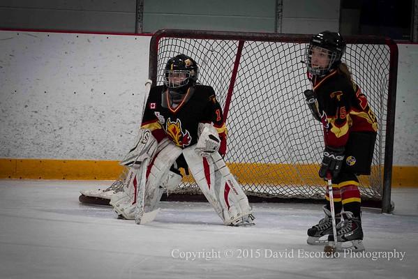 Game 1 - Flames vs North Simcoe