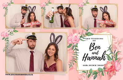 Ben & Hannah's Wedding - 8th June 2019