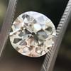 3.46ct Old European Cut Diamond GIA M, VS1 9