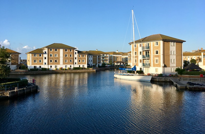 Brighton Marina morning