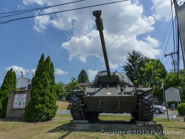 201st Infantry Field Artillery Monument - Morgantown, WV -  M41