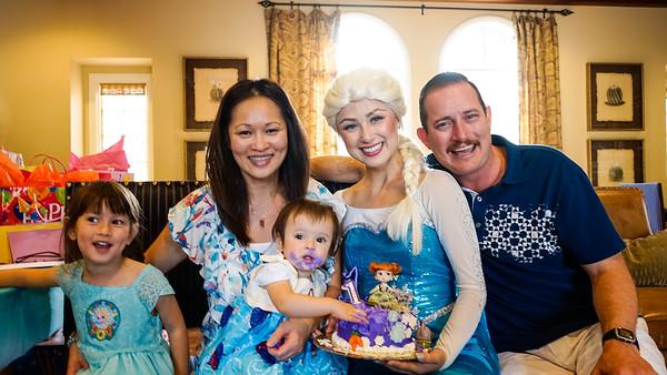 Aria and Olivia's Birthday