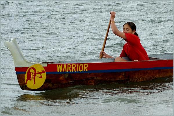 Lummi Nation Canoe Races, May 20, 2006