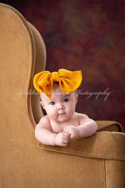 Hannah at 4 months