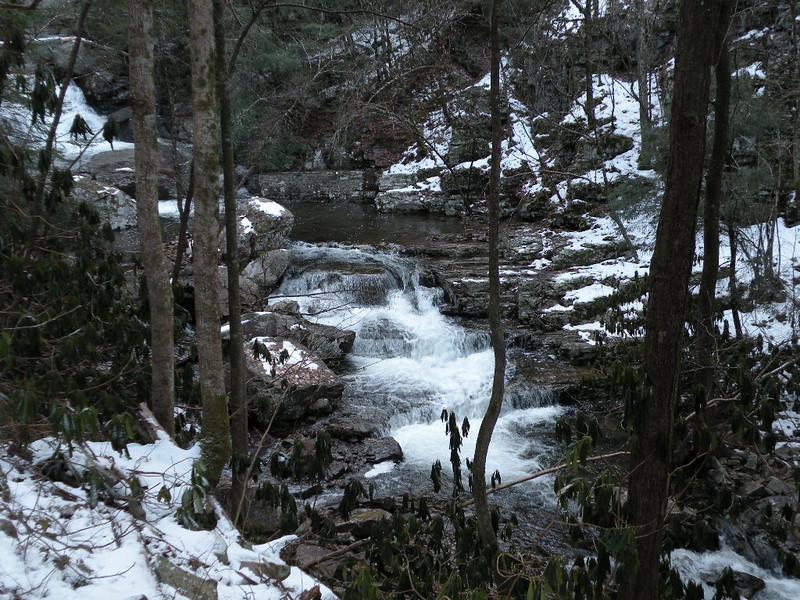 Lower Rock Creek Falls