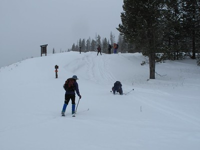 Fawn Pass Trail Ski 26Jan10