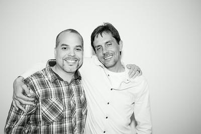 Luis and John