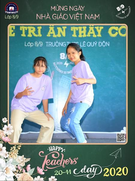 Trư�ng THCS Lê Quý �ôn | Trí ân Thầy Cô nhân ngày Nhà giáo Việt Nam năm h�c 2020-2021 | Vietnam Teacher's Day 2020 instant print photo booth | Saigon Photobooth
