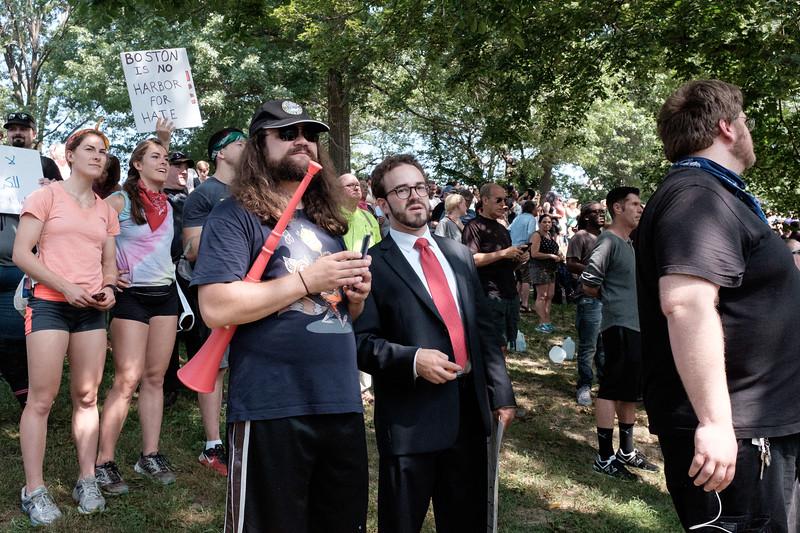 Boston Resist Protest August 19