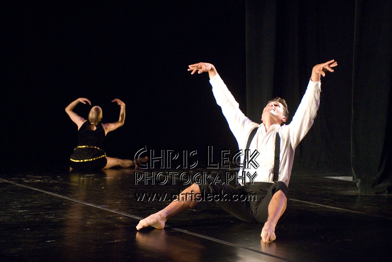 'Suite No. 3'performed by Agnieszka Laska Dancers and Justin Kagan (cello). Music by Ernest Bloch, choreography by Agnieszka Laska. Bach to Bloch -- Portland Mini-Fest, International de Danse.