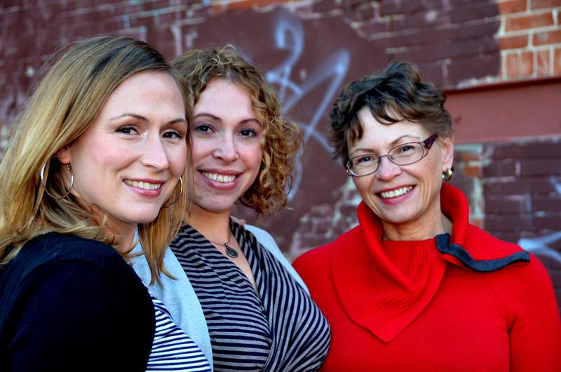 The Hubbard family. Toronto. November 2011.
