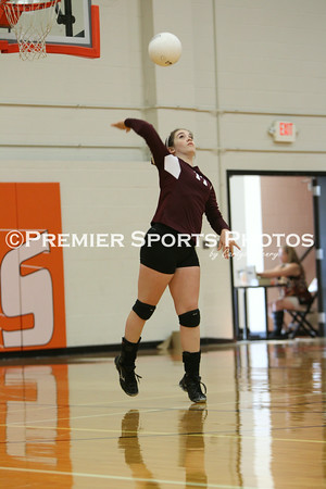 La Porte Varsity Volleyball vs Lee 8/13/2014