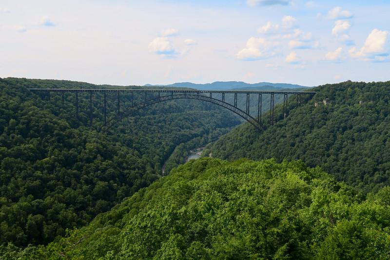 New River Gorge National Park & Preserve - Long Point Trail  (3.2 miles; d=3.90)