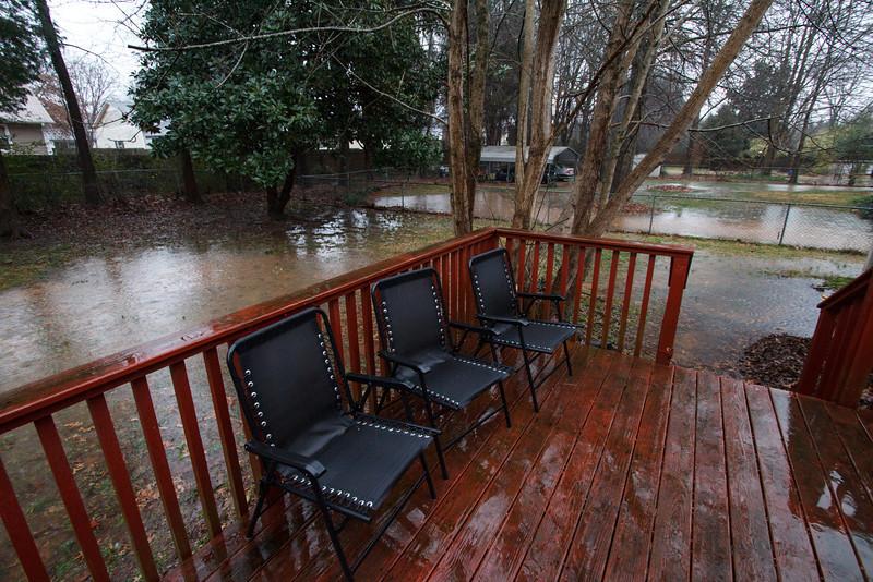 We've had a lot of rain.