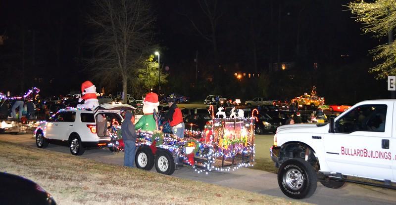 Homewood Library in Homewood Christmas Parade 2012 #4.jpg