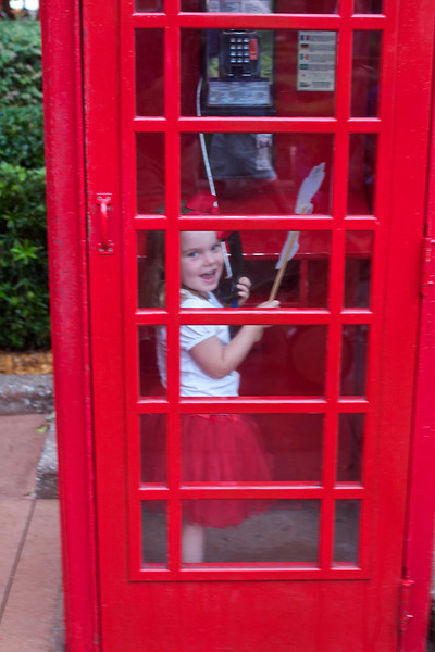 The phones in England actually work… who knew?