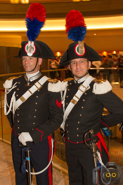 Italian police Cosplayers at DragonCon 2015
