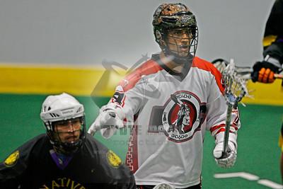 8/9/2015 - Can Am Championship Game #3 - Native Sons vs. Onondaga Redhawks - Tsha' Hon'nonyen'dakhwa', Onondaga Nation Territory (Onondaga Nation Arena, Nedrow, NY)