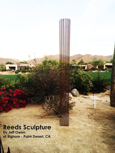 Reeds Sculpture by Jeff Owen
