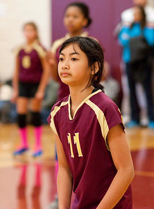 Middle School Girls' Volleyball