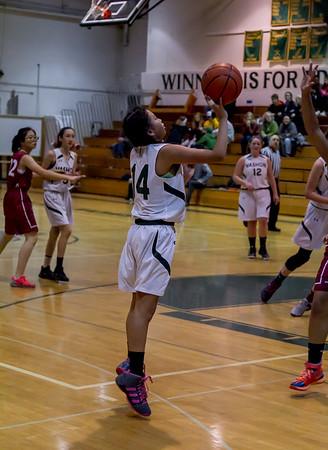 Girls JV Basketball v Northwest 11/29/2016
