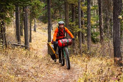 2013-10 Bikepacking Lake Minnewanka