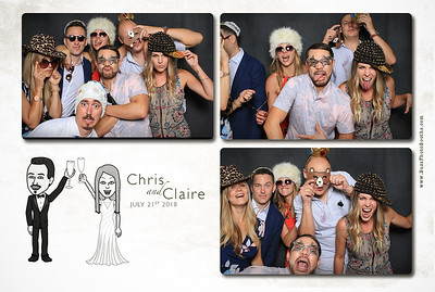 2018 Claire and Chris Wedding