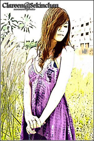 20110213 - Clareen, Sekinchan (watercolour edition)