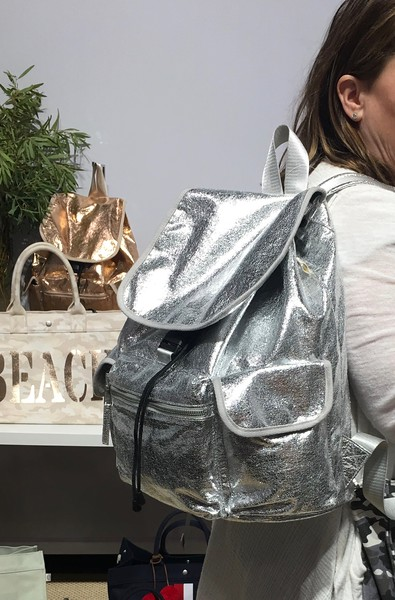 This cool Backpack available in Gold and Silver, weighs oly 10 ounces!