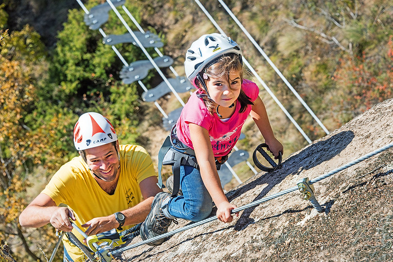 Klettersteig - via ferrata Knott