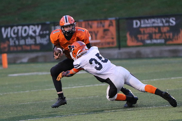 09Fr Freshman Football:  Raceland JV at Wheelersburg Fr 2017