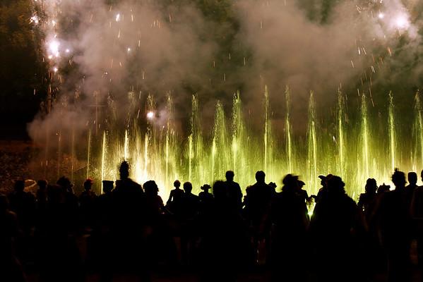 Scenofeerie de Semblancay - Danse et Jets d'eau