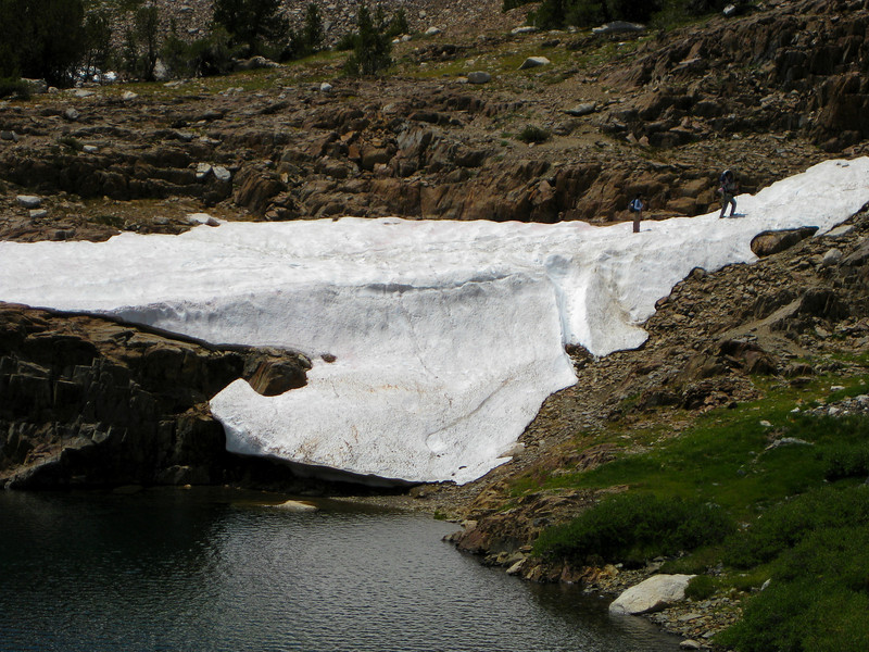 "Lake Helen ""glacier""."
