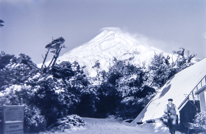 1950 JER Mathews 1st attempt at climbing Mt Egmont (with Ray Mathews) 2 (LF trans) a.jpg