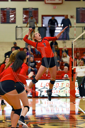 Lakota West Girls Volleyball vs. Lakota East (10.12.17)