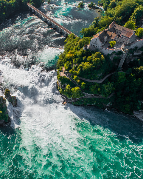 Rhine Falls Castle