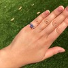1.19ct Art Deco Carre Cut Diamond Solitaire 30