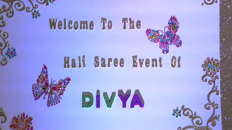 Divya Half Saree Function