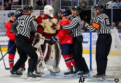 Atlanta Gladiators Vs Jacksonville Icemen 02/29/2019