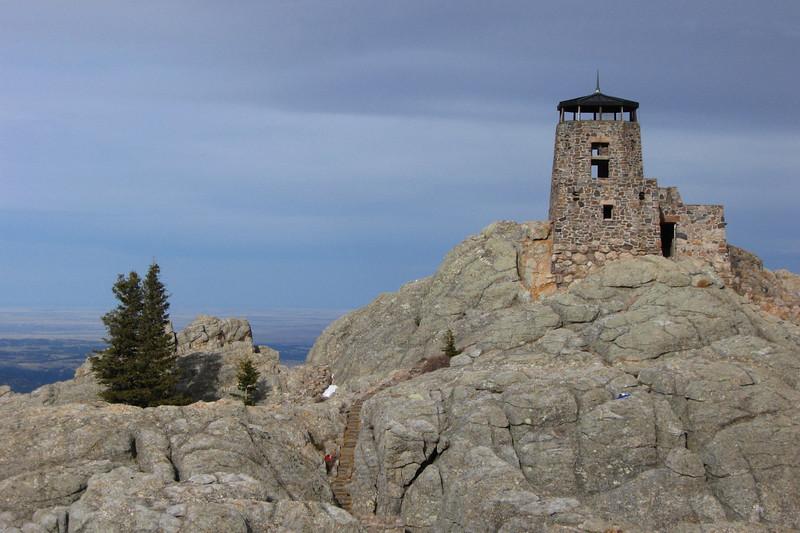 Black Elk Peak - South Dakota Highpoint  (5.5 miles; d=7.90)